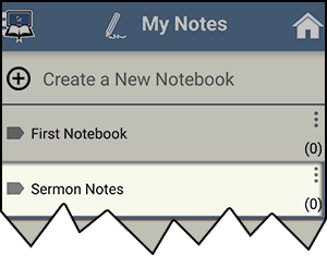 New notebook example