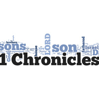 1 Chronicles - Word Cloud