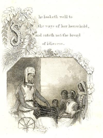 Image-SHE LOOKETH WELL TO THE WAYS OF HER HOUSEHOLD