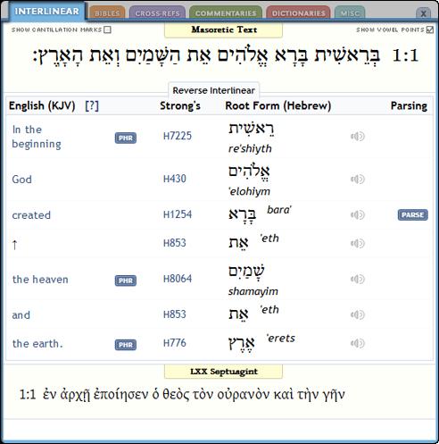 Interlinear Help Tutorial