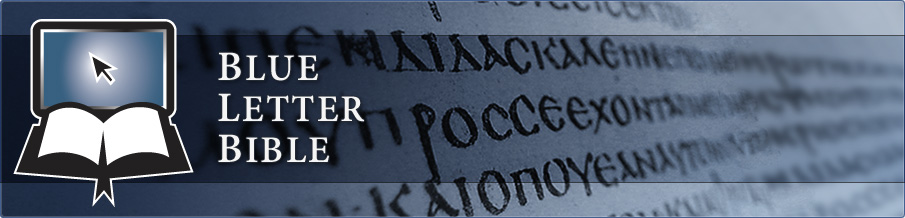 Blue Letter Bible Another fantastic source to use online for your Bible study needs.