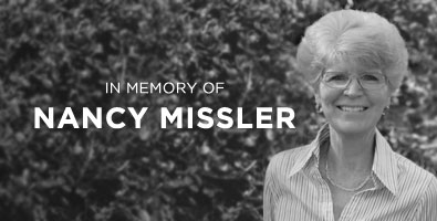 In memory of Nancy Missler